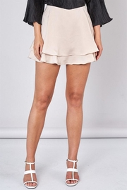 Do & Be Overlapping Mini Skirt - Front cropped
