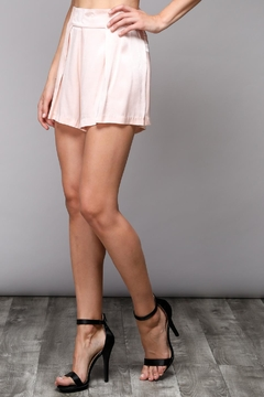 Shoptiques Product: Peach Satin Shorts