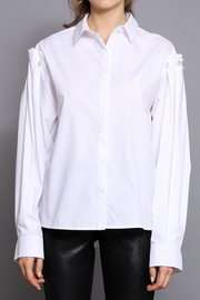 Do & Be Pearl Detail Shirt - Product Mini Image