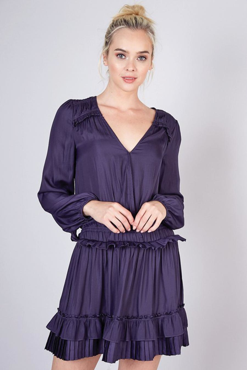 Do & Be Pleated Detail Dress - Main Image