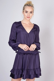 Do & Be Pleated Detail Dress - Product Mini Image