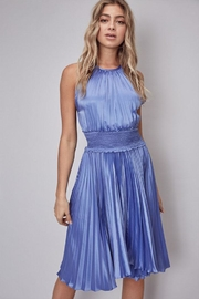 Do & Be Pleated Midi Dress - Front cropped