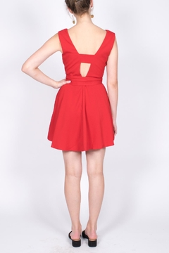 Do & Be Plunge Mini Dress - Alternate List Image