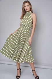 Do & Be Polka-Dot Midi Dress - Front cropped