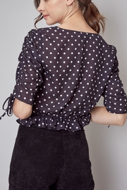 Do & Be Polka Dot Top - Front cropped