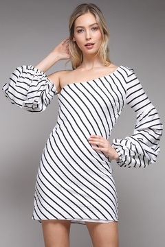 Shoptiques Product: Puff Sleeve Dress