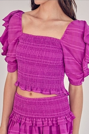 Do & Be Puff Sleeve Top - Front cropped