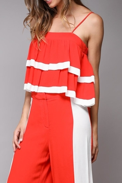 Shoptiques Product: Red Layered Top