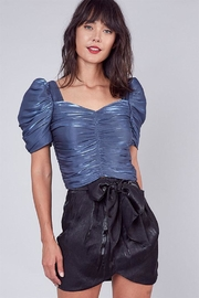 Do & Be Ruched Detailed Blouse - Front cropped