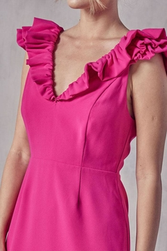 Do & Be Ruffle Detail Dress - Alternate List Image