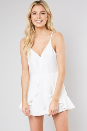 Do & Be Ruffle Front Romper - Product Mini Image