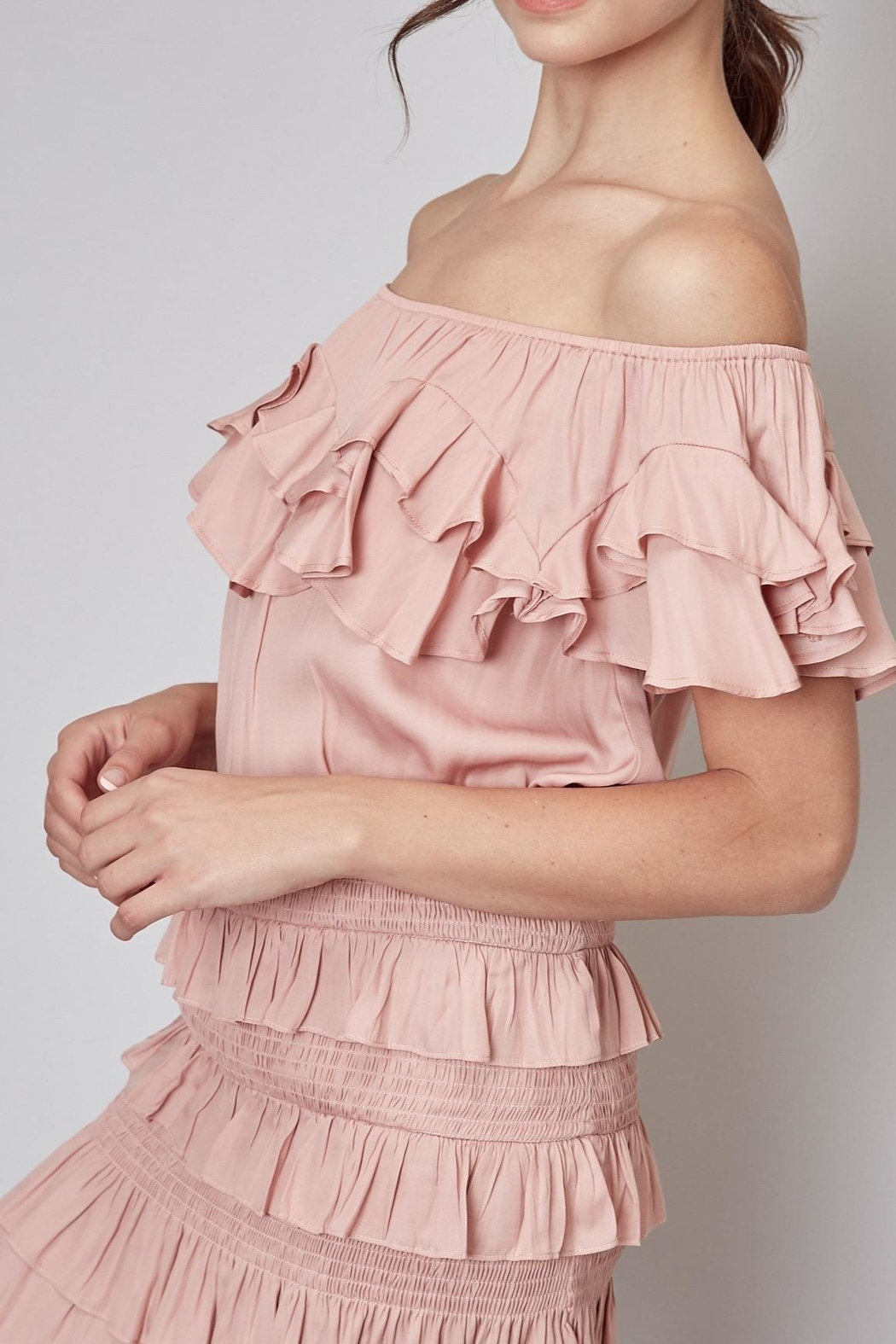 Do & Be Ruffle Top - Main Image