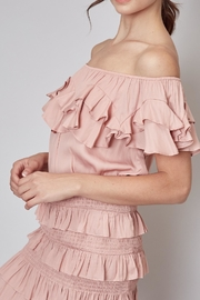Do & Be Ruffle Top - Product Mini Image