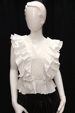 Do & Be Ruffled Cotton Top - Product List Image