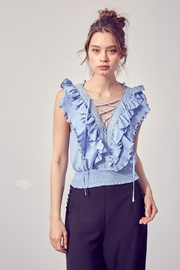 Do & Be Ruffled Front Top - Product Mini Image
