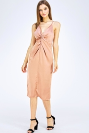 Do & Be Satin Midi Dress - Product Mini Image