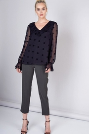 Do & Be Sheer Top With Ruffle Detail - Other