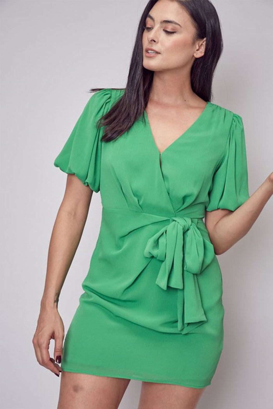 Do & Be Side Tie Dress - Main Image