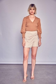 Do & Be Side Twist Mini Skirt - Front cropped