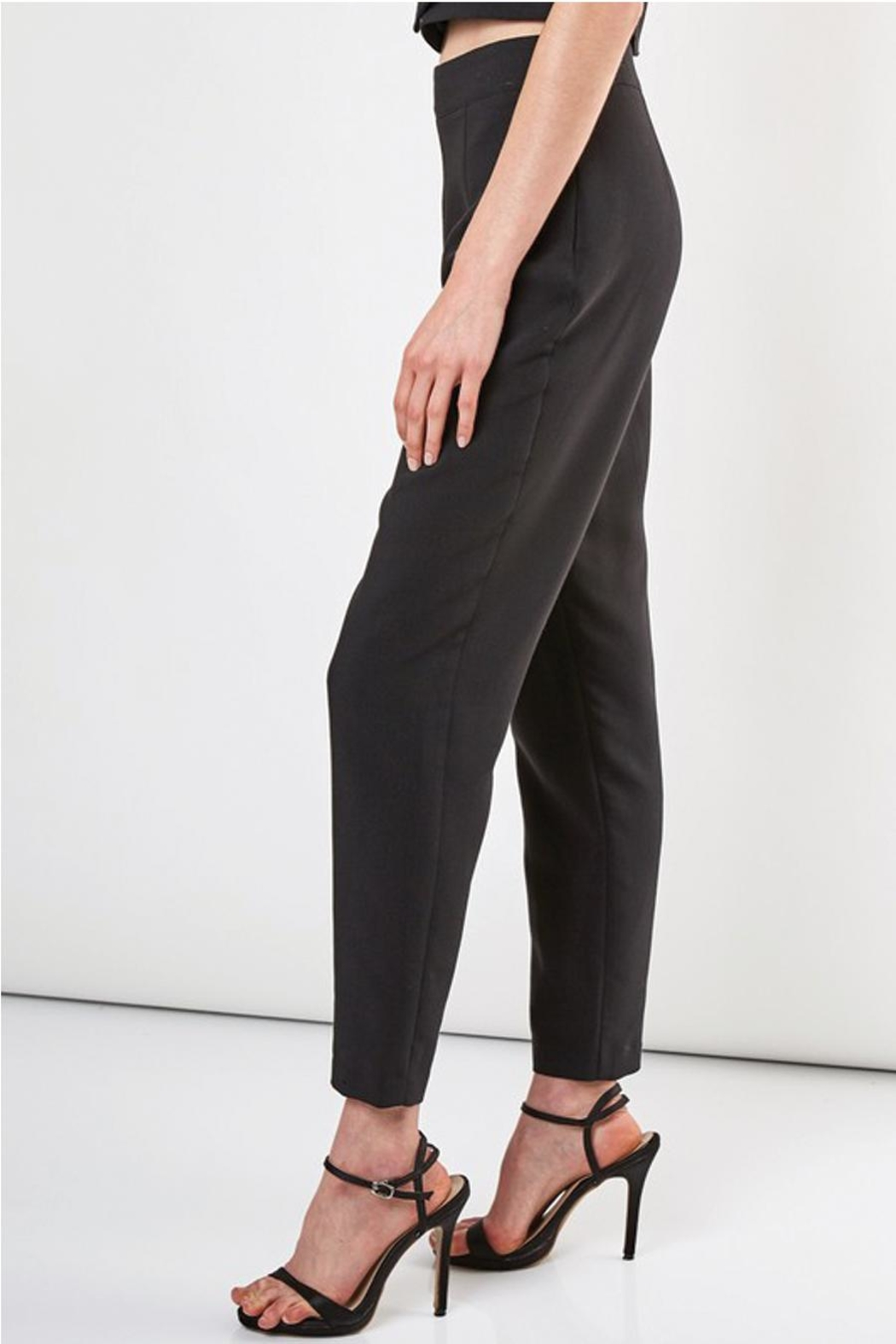Do & Be Slim Fit Pant With Side Zipper - Front Full Image