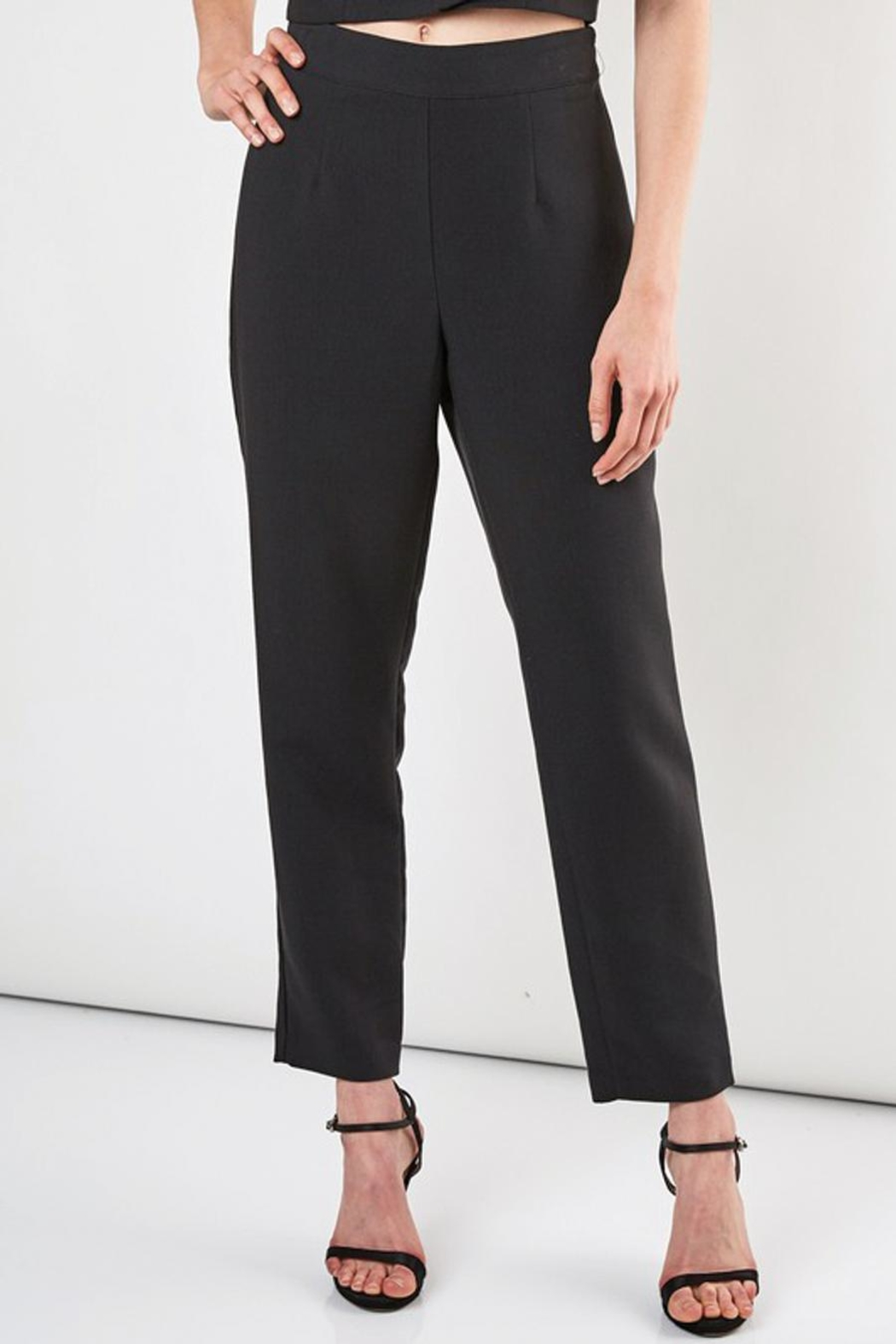 Do & Be Slim Fit Pant With Side Zipper - Main Image