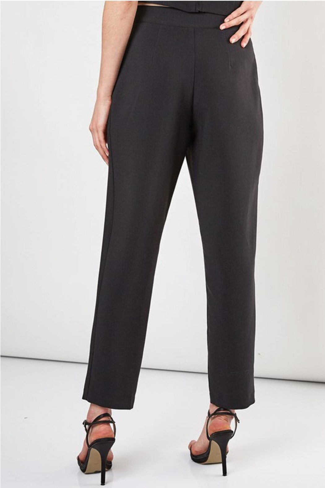 Do & Be Slim Fit Pant With Side Zipper - Side Cropped Image