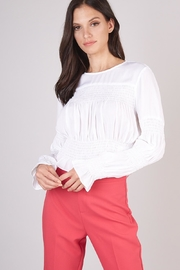Do & Be Smocked Long-Sleeve Blouse - Product Mini Image