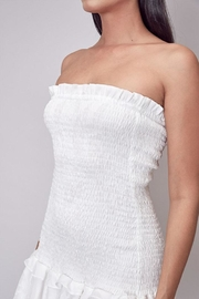 Do & Be Smocked Strapless Dress - Other