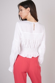 Do & Be Smocking Detail Top - Side cropped
