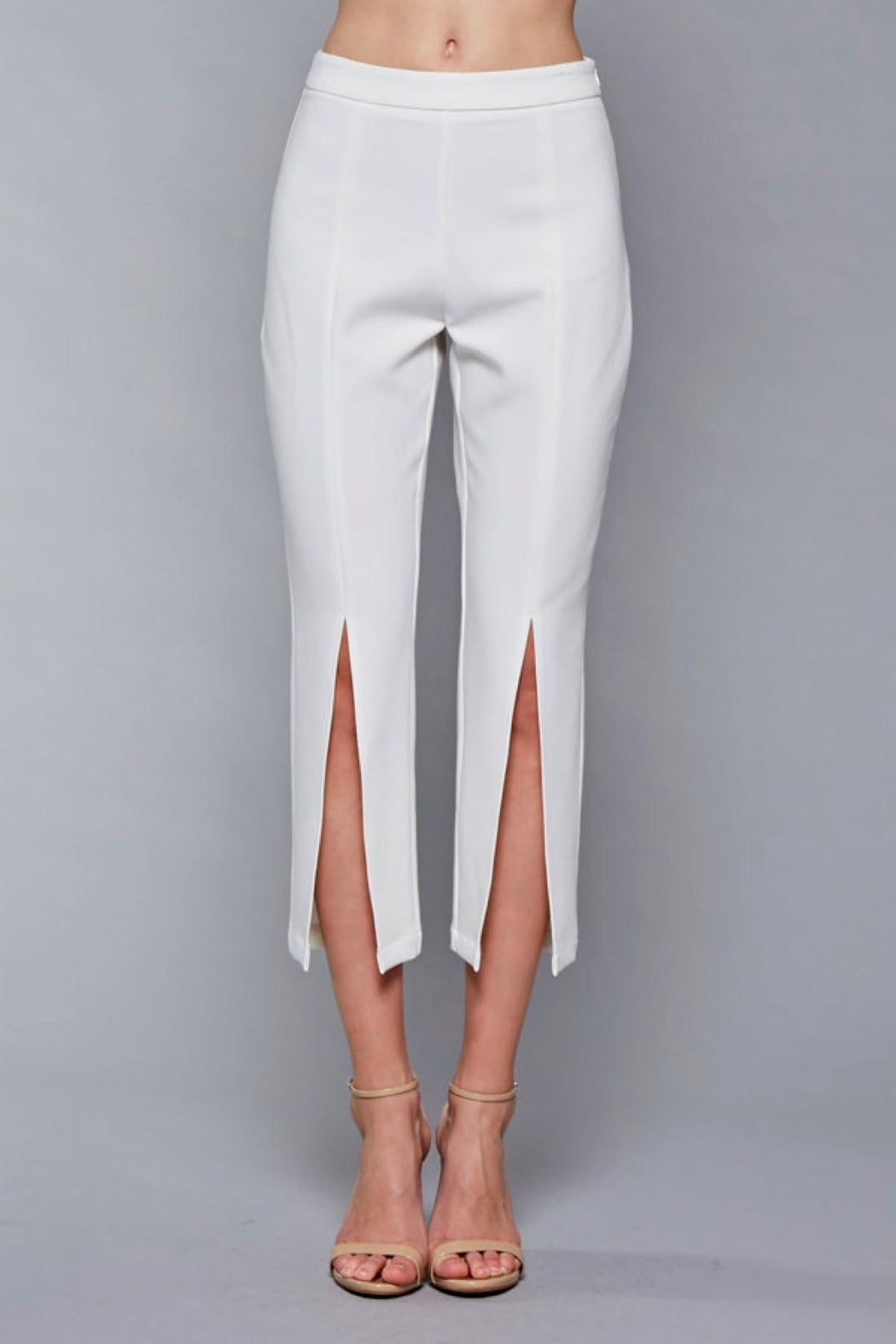 Do & Be Split Front Pant - Main Image