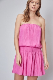 Do & Be Strapless Dress - Front cropped