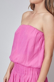 Do & Be Strapless Dress - Back cropped