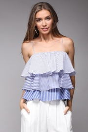 Do & Be Striped Layered Top - Front cropped