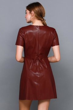 Do & Be Studded Leather Dress - Alternate List Image
