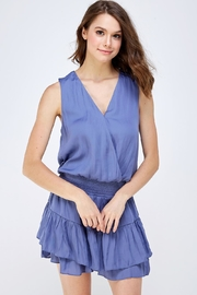 Do & Be Surplice Smocked Dress - Front cropped