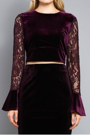 Do & Be Tie Back Top - Front full body