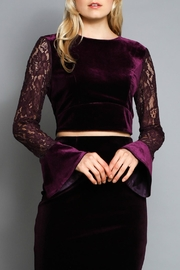 Do & Be Tie Back Top - Front cropped