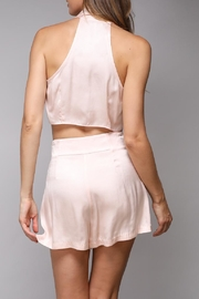 Do & Be Tie Front Crop - Front full body