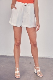 Do & Be Tie Front Shorts - Product Mini Image