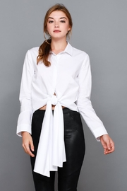 Do & Be Tie Front Top - Product Mini Image