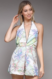 Do & Be Tropical Print Romper - Product Mini Image