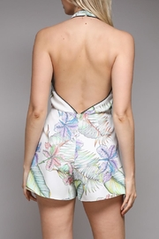 Do & Be Tropical Print Romper - Front full body