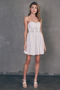 Shoptiques Product: Tube Tie-Front Dress