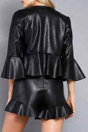 Do & Be Vegan Leather Jacket - Front full body