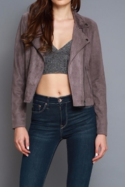 Do & Be Vegan Moto Jacket - Product Mini Image