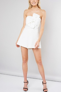Do & Be White Strapless Romper - Product List Image