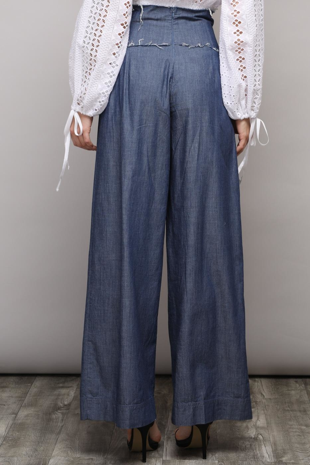 Do & Be Wide Denim Pants - Side Cropped Image