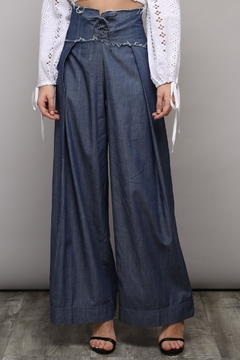 Shoptiques Product: Wide Denim Pants