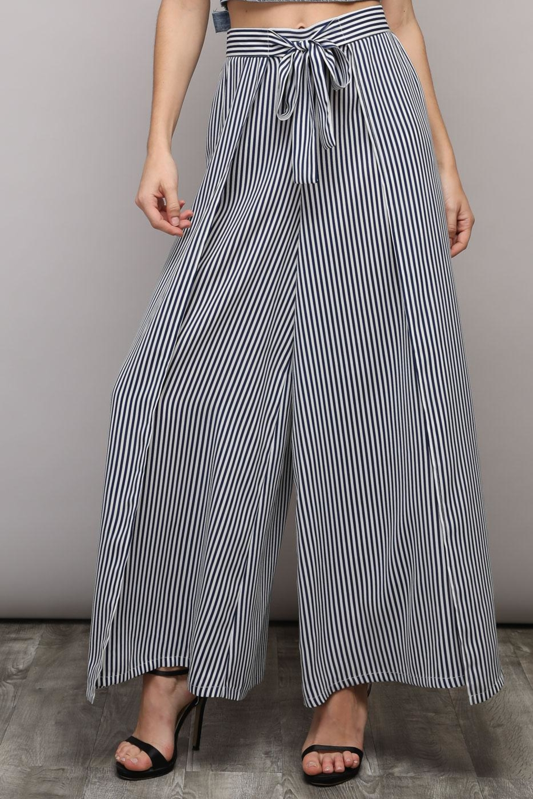 Do & Be Wide Leg Pants - Front Full Image