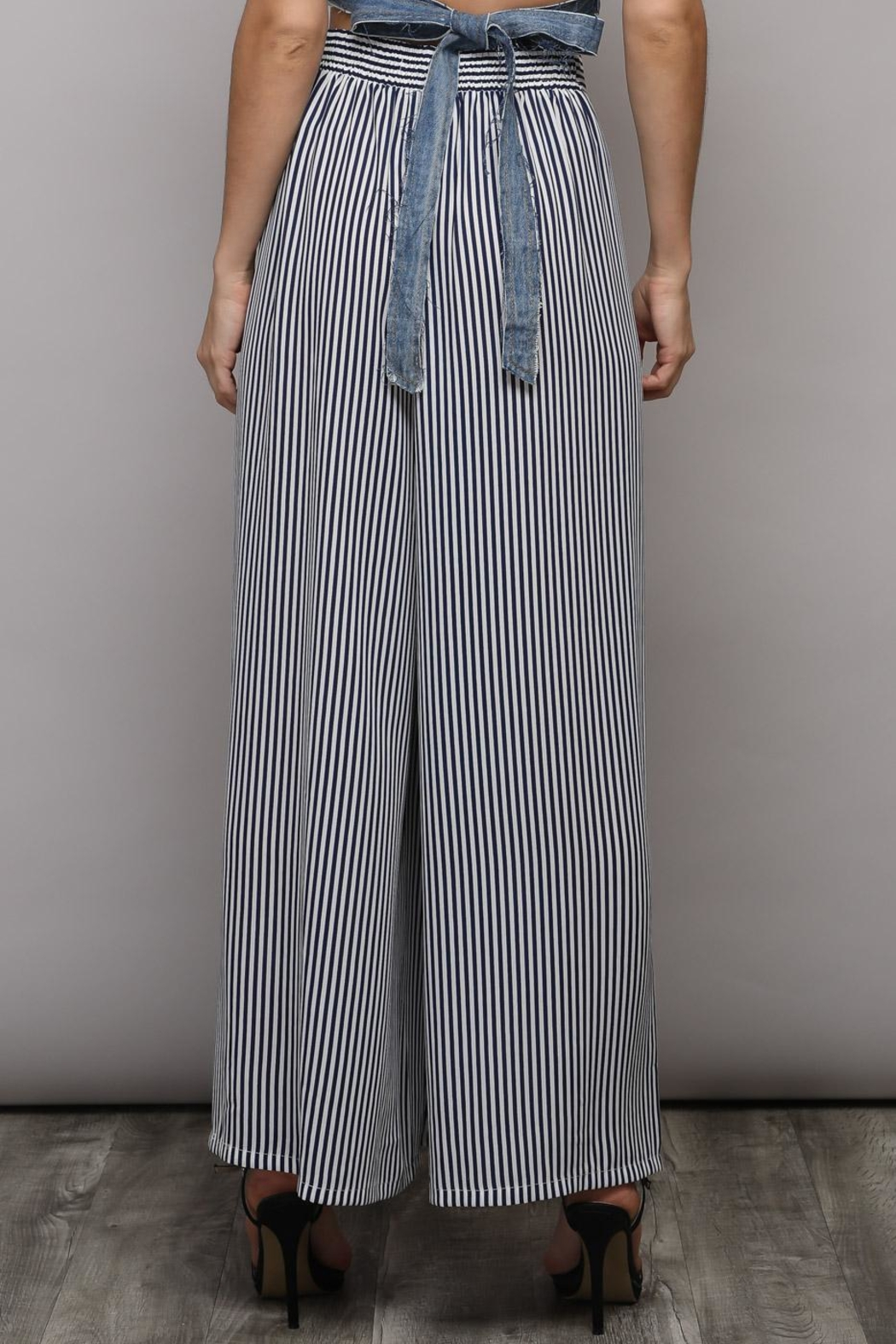 Do & Be Wide Leg Pants - Side Cropped Image